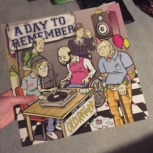 A Day To Remember- Old Record Vinyl